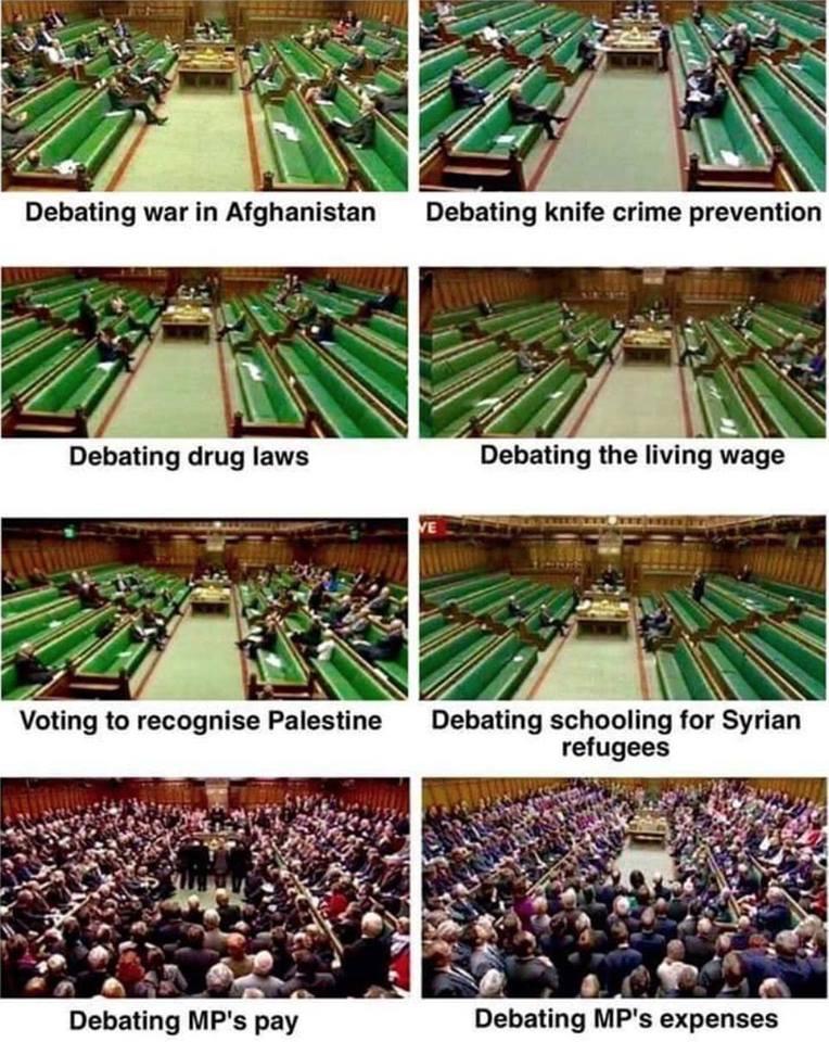 Политикам интересны только собственные интересы (pun unintended)