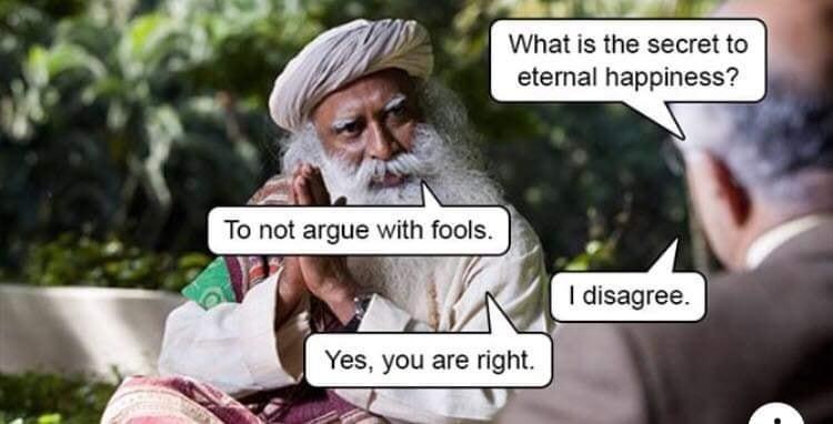 Guru dealing with the Poz