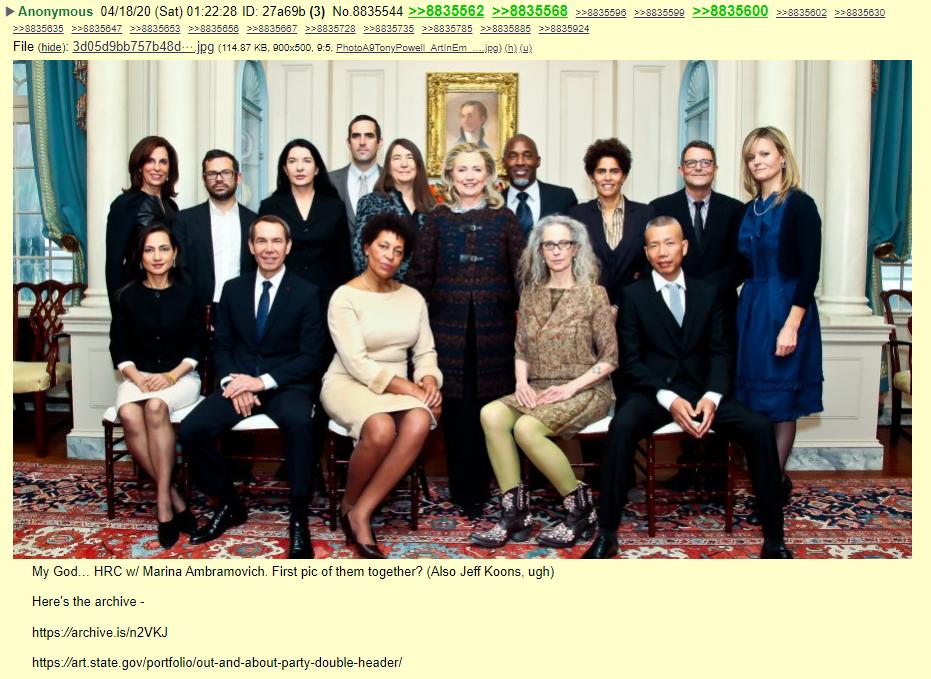 QAnon 18 April 2020 - Traitor Justice - HRC Abramovich