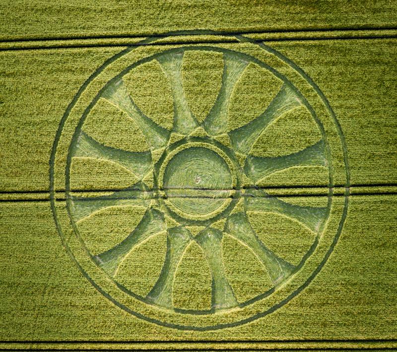 Crop Circles 2020 - Wiltshire United Kingdom. Reported 14th June. 05a88d6cd84f2cdd