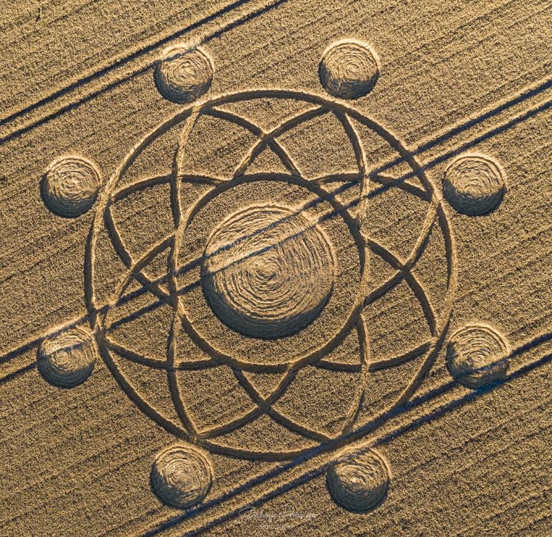 Crop Circles 2020 - Norton Plantation, Nr Heytesbury, Wiltshire. Reported 7th August. A26a4586b6ea8068