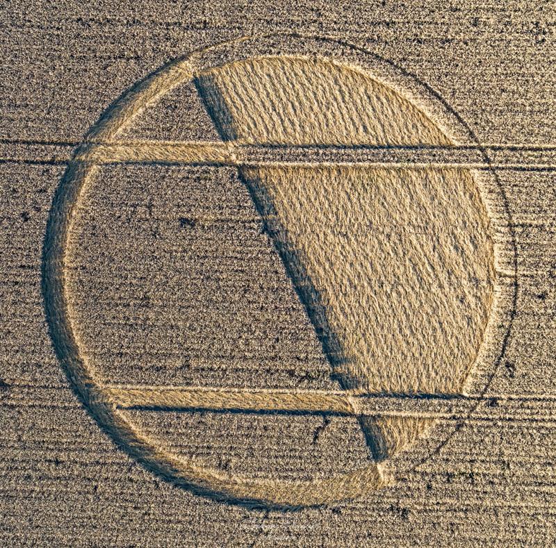 Crop Circles 2020 -  Chirton Bottom, Nr Urchfont, Wiltshire. Reported 5th September. 6c6aedad162cf67b